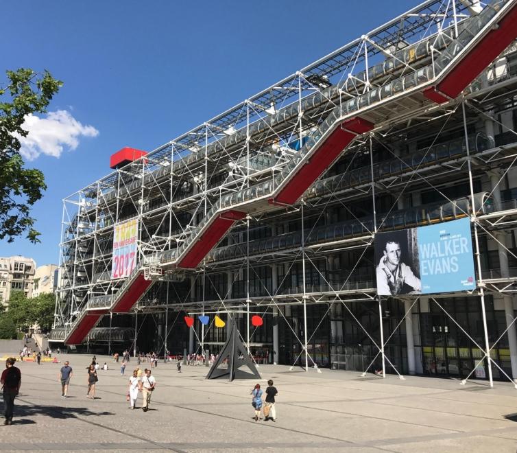 Monir Shahroudy Farmanfarmaian at the Centre Pompidou