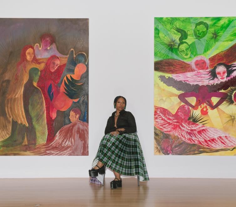 Naudline Pierre at Dallas Museum of Art