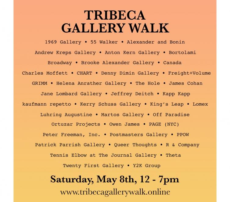 James Cohan at Tribeca Gallery Walk