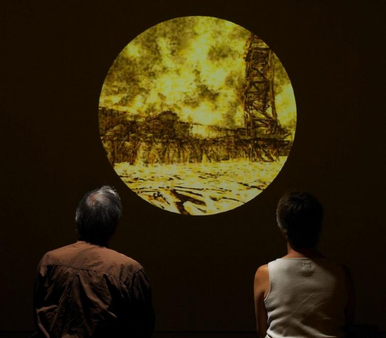 Matthew Ritchie at St. Louis Art Museum