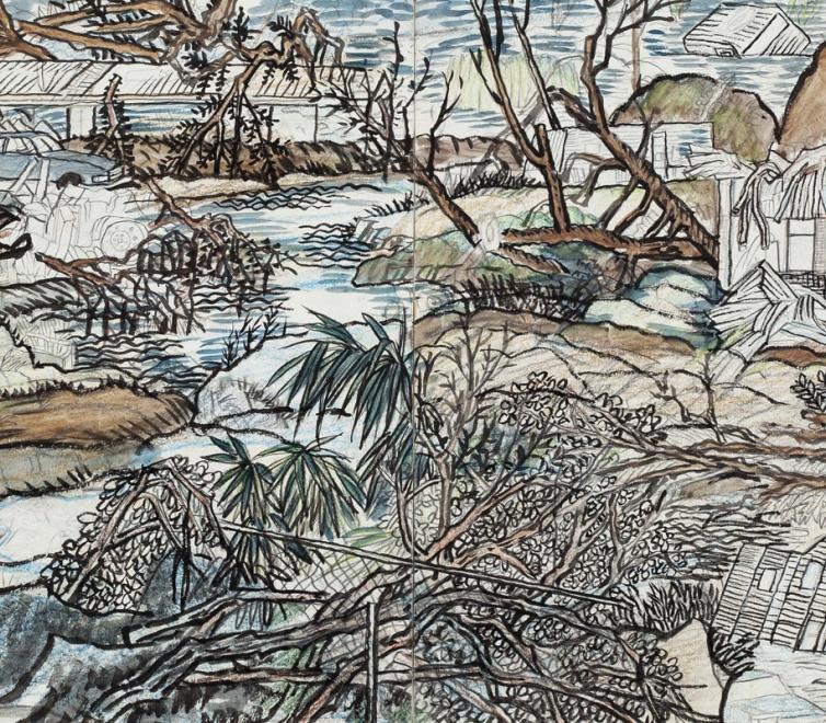 Yun-Fei Ji at the Hilliard University Art Museum