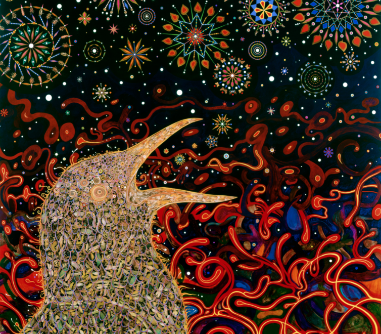 Fred Tomaselli at the Toledo Museum of Art