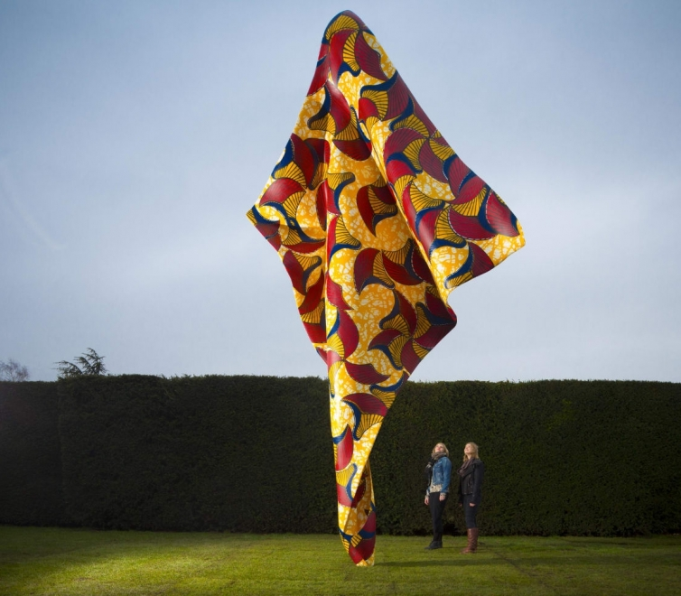 Yinka Shonibare MBE at Yorkshire Sculpture Park