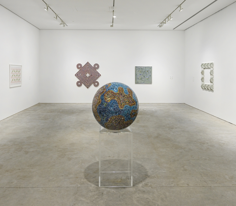 Monir Shahroudy Farmanfarmaian at the Sharjah Art Foundation