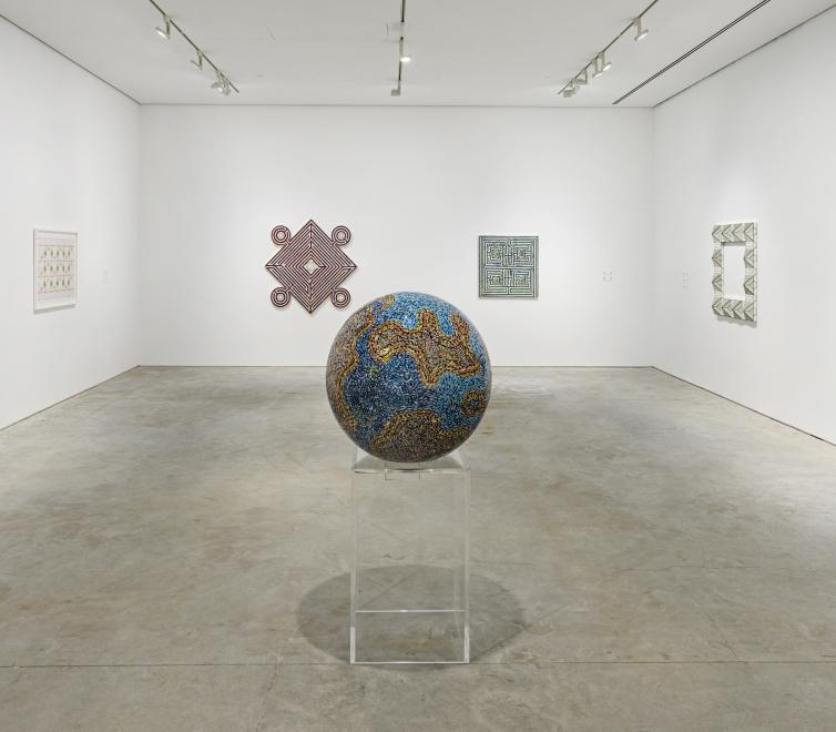Monir Shahroudy Farmanfarmaian at the Sharjah Art Foundation