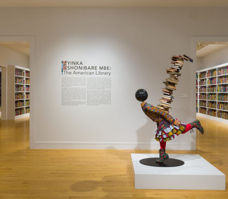 Yinka Shonibare MBE at Van Every / Smith Galleries at Davidson College