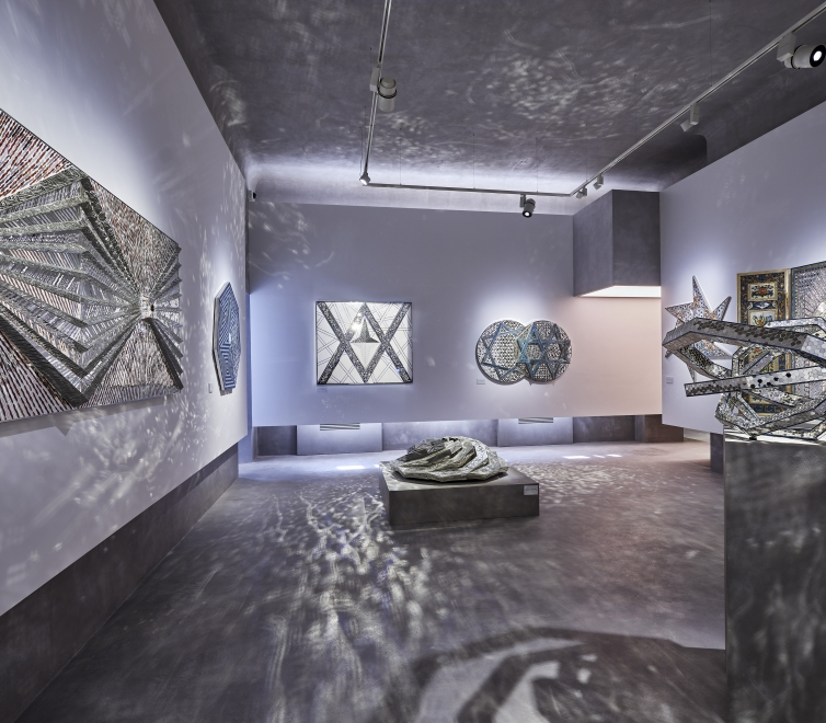 Monir Shahroudy Farmanfarmaian at the Monir Museum