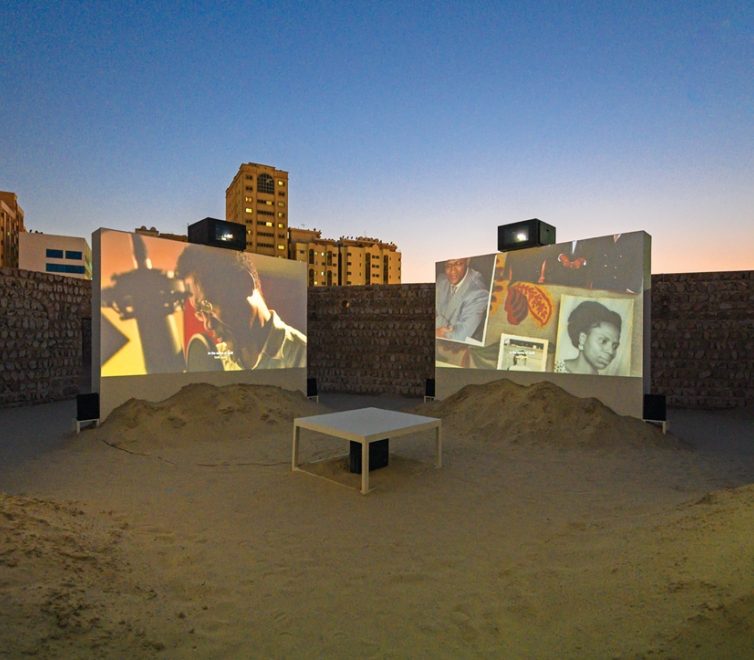 Tuan Andrew Nguyen at Sharjah Biennial