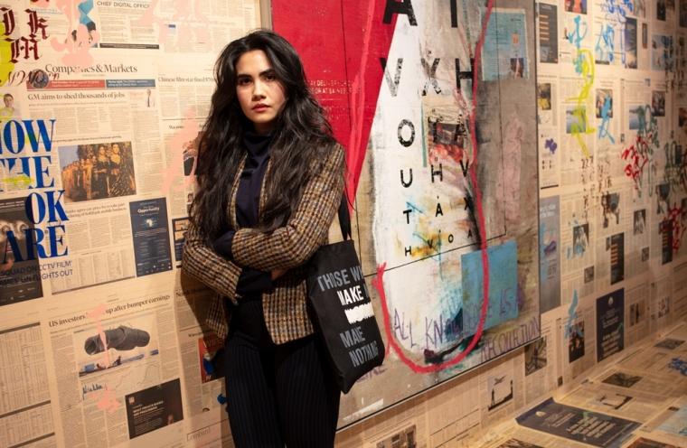 Mandy El-Sayegh in conversation with Sohrab Mohebbi
