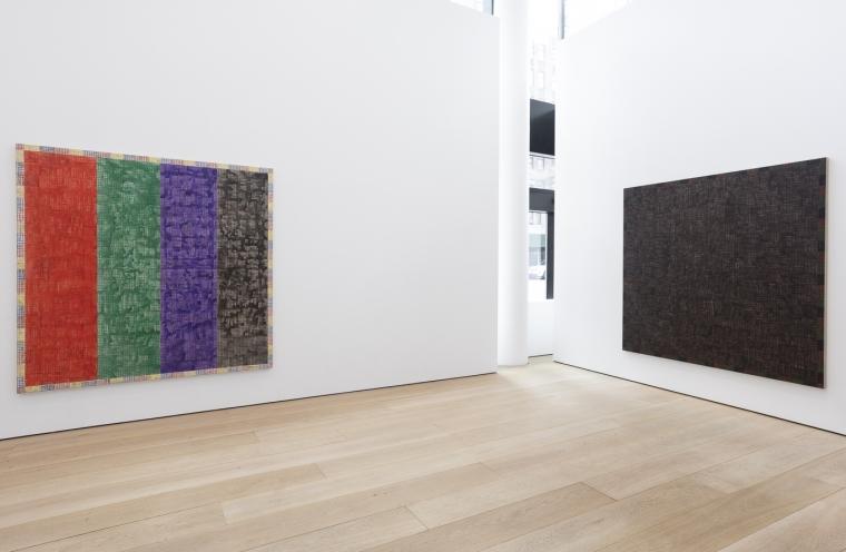 McArthur Binion: Modern:Ancient:Brown