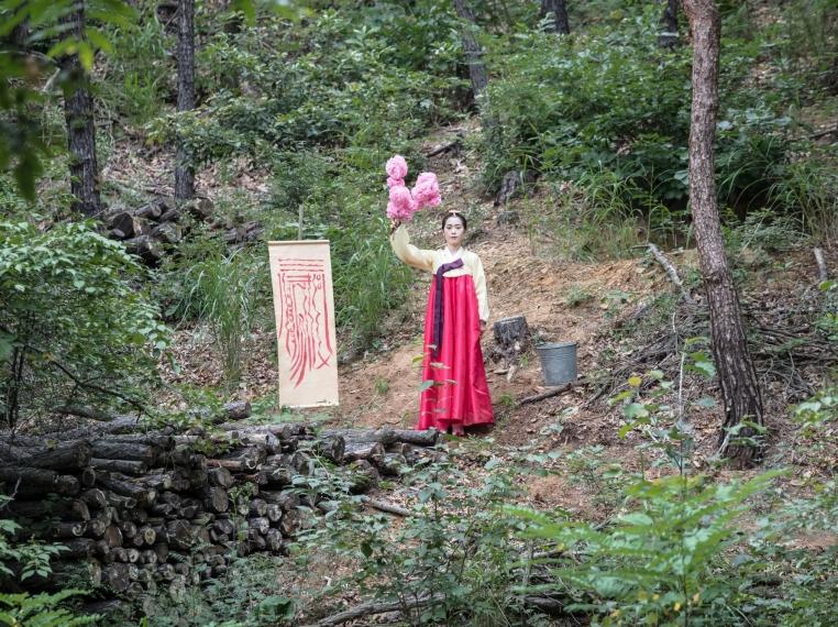 Park Chan-kyong, still from Citizen's Forest, 2016. Courtesy of Art Sonje Center and Kukje Gallery.