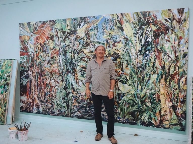 Miami artist brings to airport his Everglades-inspired vision