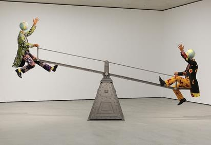 Yinka Shonibare CBE at Museum der Moderne Salzburg