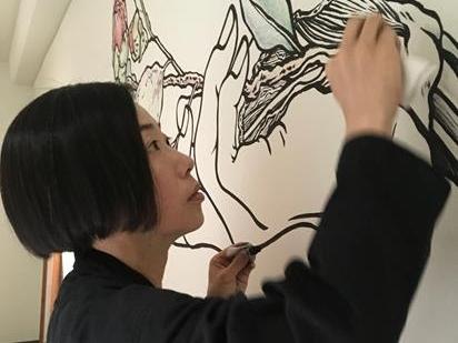 Tabaimo at Drawing Room