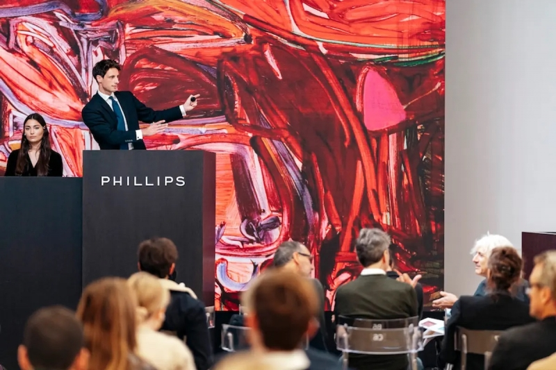 THE ART NEWSPAPER: Young, emerging artists continue to dominate Frieze week auctions as Phillips sets seven records