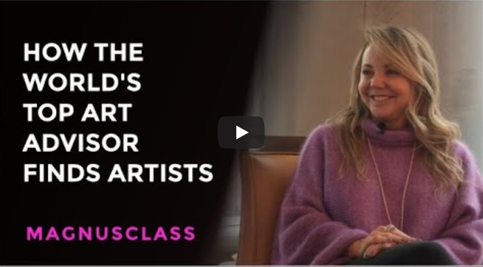 How The World's Top Art Advisor Finds and Selects Artists