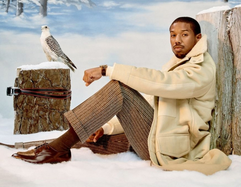 Awol Erizku Photographs Michael B. Jordan for GQ