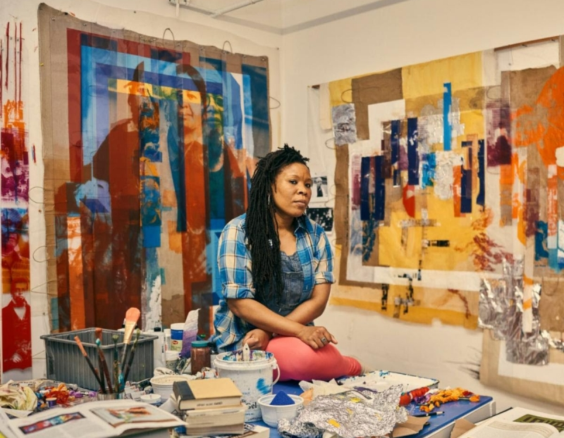 The Parrish Museum Presents Tomashi Jackson in conversation with Corinne Erni, K-Sue Park, and Kelly Denis
