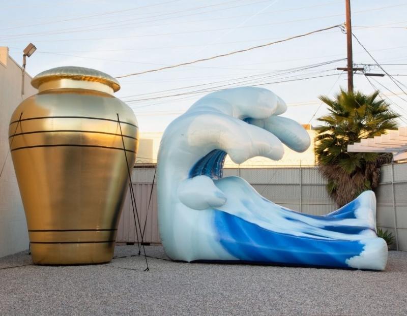 Divya Mehra Featured in Frieze Sculpture Park Sneak Preview in Artnet