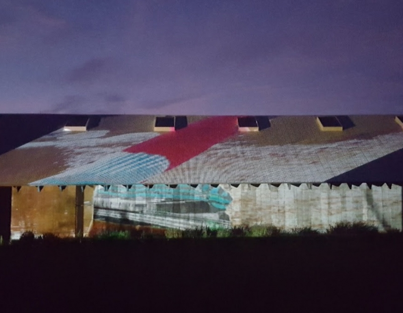 Tomashi Jackson: Projection on the Parrish, Friday August 7th, 9pm –11pm