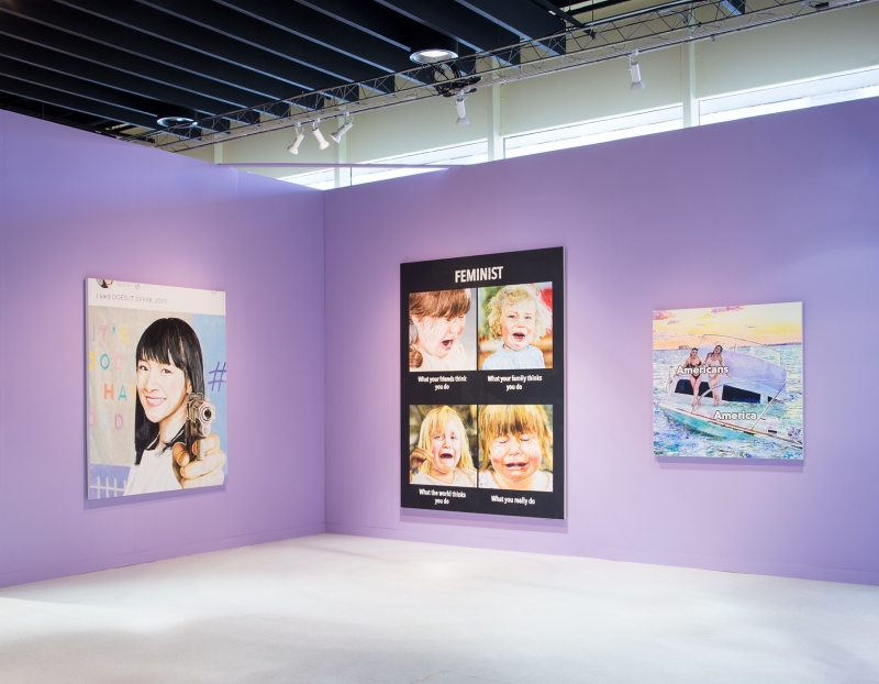 Christine Wang's Solo Booth Awarded the Pommery Prize at the Armory Show 2020