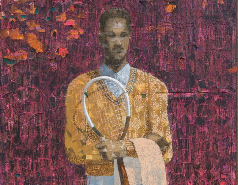 """Derek Fordjour's """"Worst to Be First"""" Acquired by Pérez Art Museum Miami"""