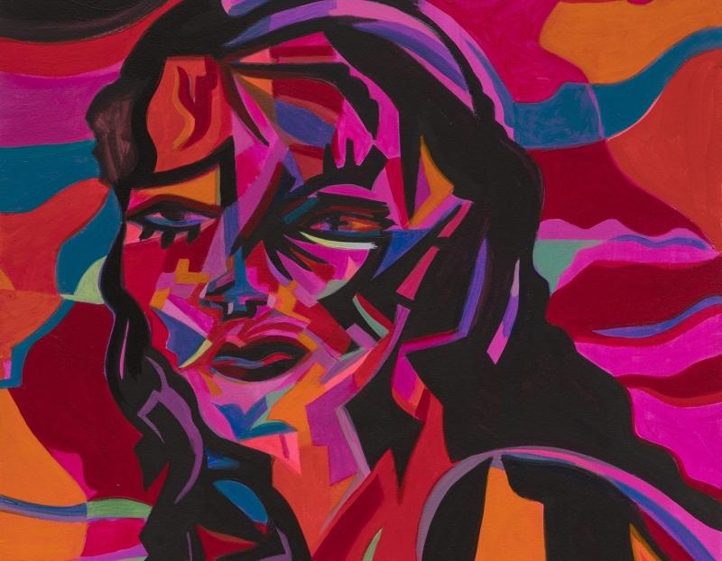 """Mira Dancy's """"Supple as the Supplicant"""" at Galería Agustina Ferreyra, Mexico City"""