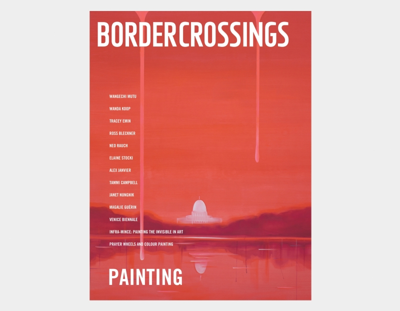 Wanda Koop Receives Cover Feature in Border Crossings Magazine