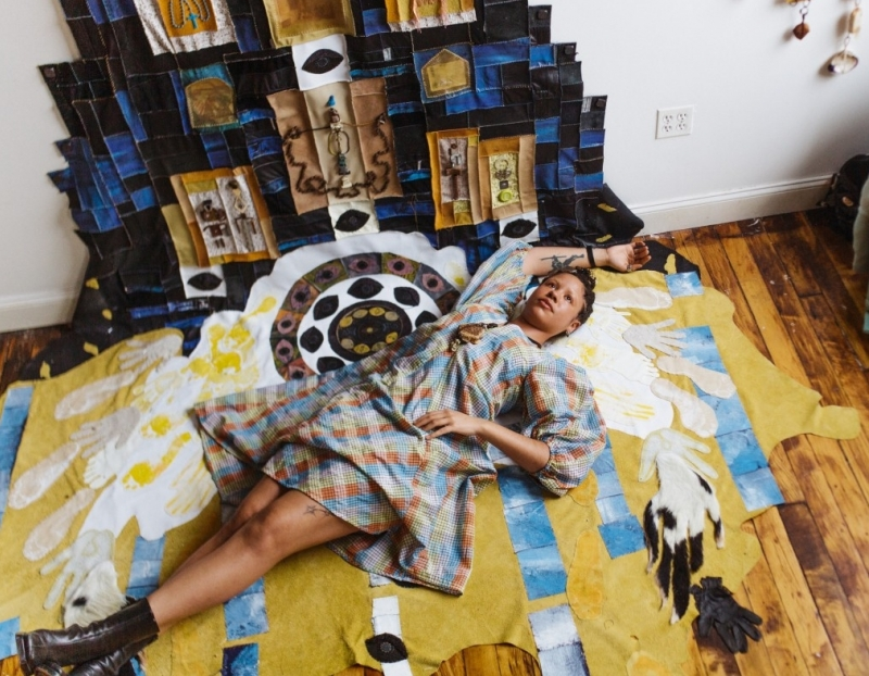"""Tau Lewis Featured as one of Financial Time's """"Six artists reshaping our way of seeing"""""""