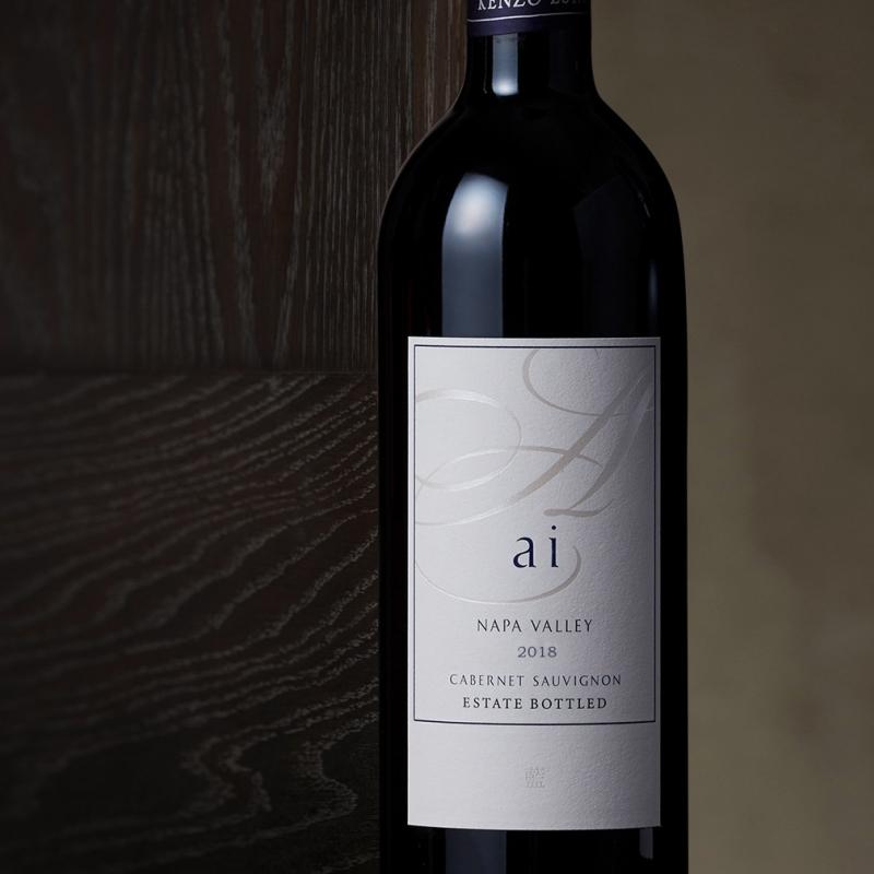 ai Cabernet Sauvignon red wine bottle with label