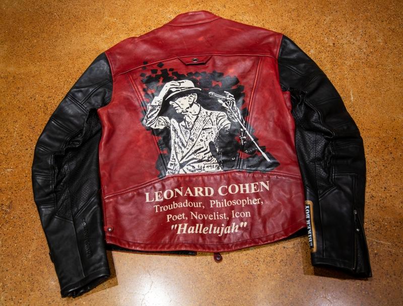 """Leonard Cohen"" Jacket"