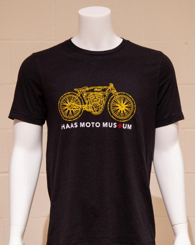 Black Motorcycle Shirt