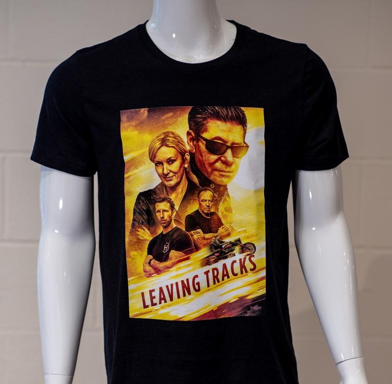 LEAVING TRACKS Poster Shirt
