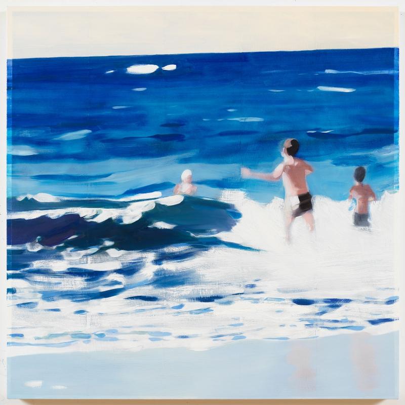 Three Bathers, Isca Greenfield-Sanders