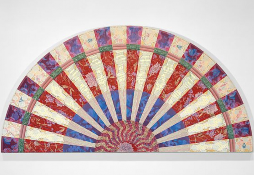 MIRIAM SCHAPIRO FEATURED IN | WITH PLEASURE: PATTERN AND DECORATION IN AMERICAN ART 1972-1985