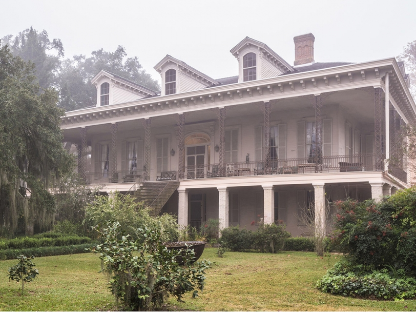 Lakeside Mansion, 1832 - Batchelor, Louisiana