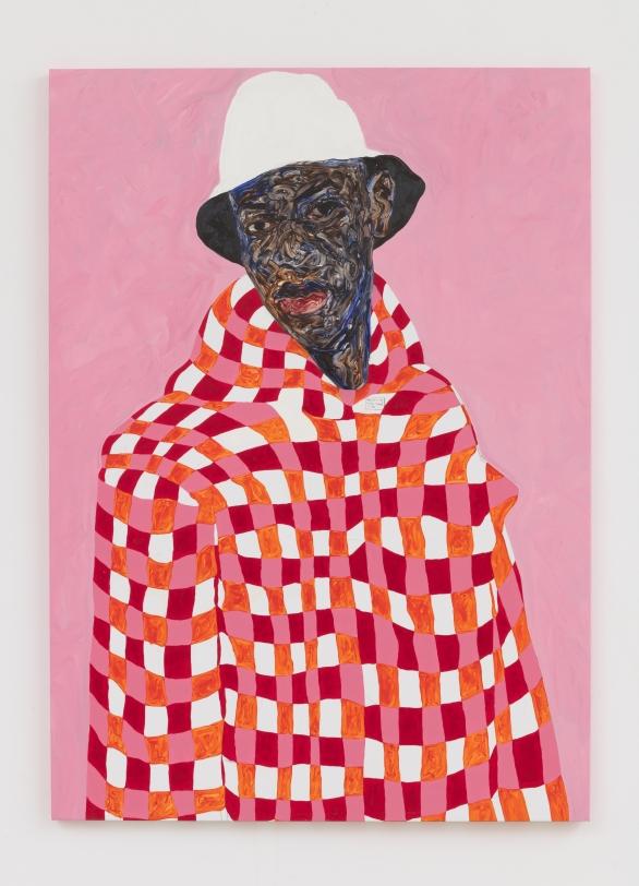 Amoako Boafo, White Bucket Hat, 2020