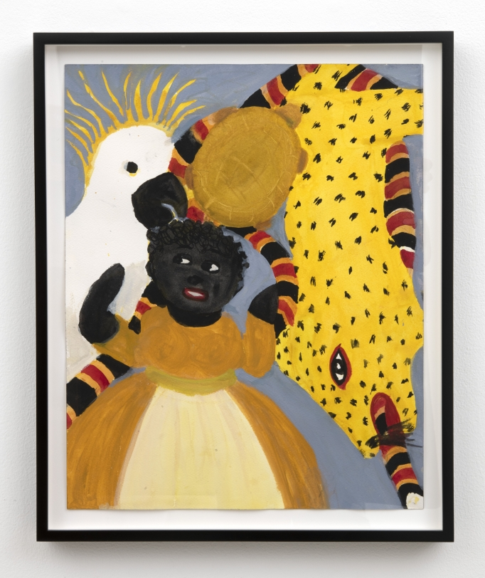 Betye Saar Black Doll w/ Critters, 2021