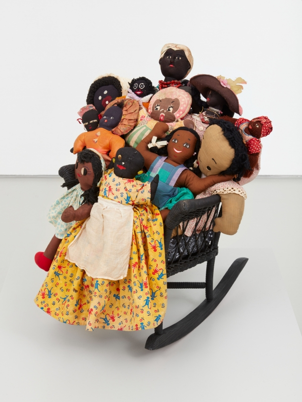 Betye Saar Rock-a-bye Black Babies, 2021
