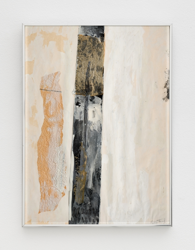Rachel Rosenthal, Totem Pole, c. 1975, Mixed Media collage, 23.25 x 17.25 in
