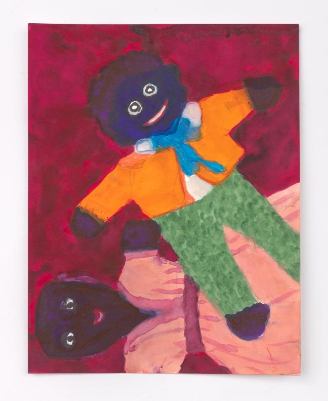 Betye Saar, Male and Female Doll, 2020