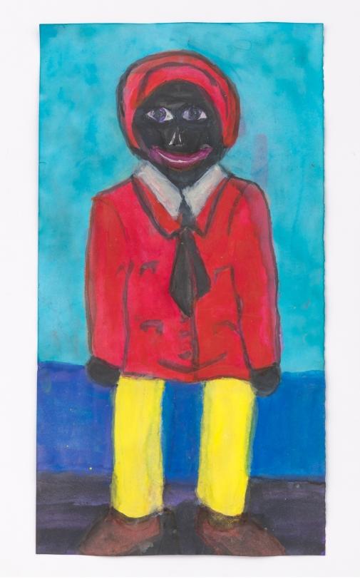 Betye Saar Male Doll with Yellow Legs, 2020