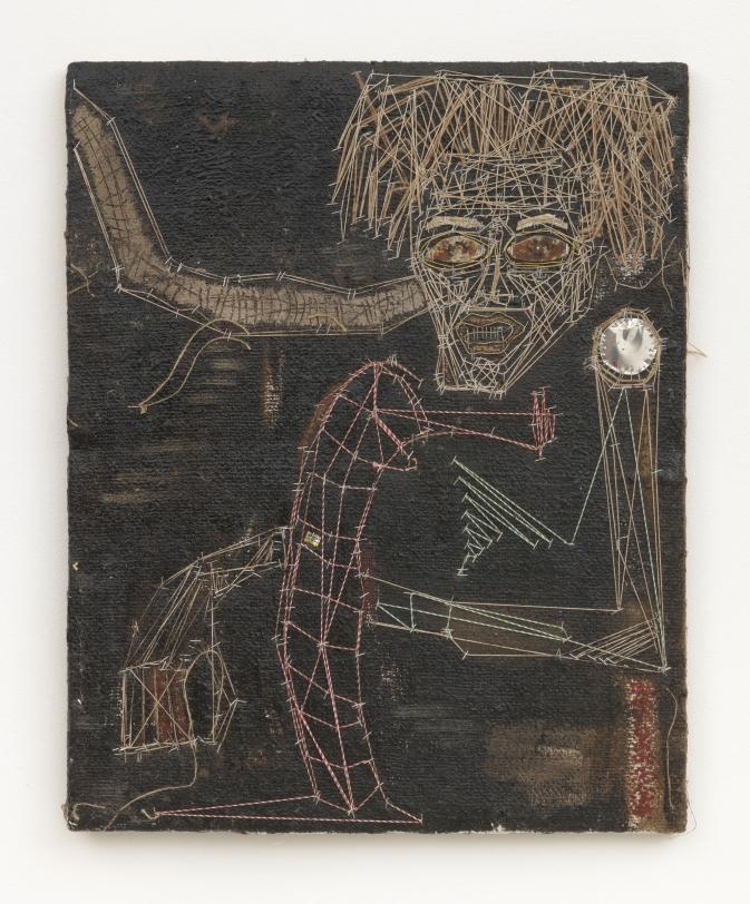 Alexandre Diop Autoportrait Ligamentaire, 2020