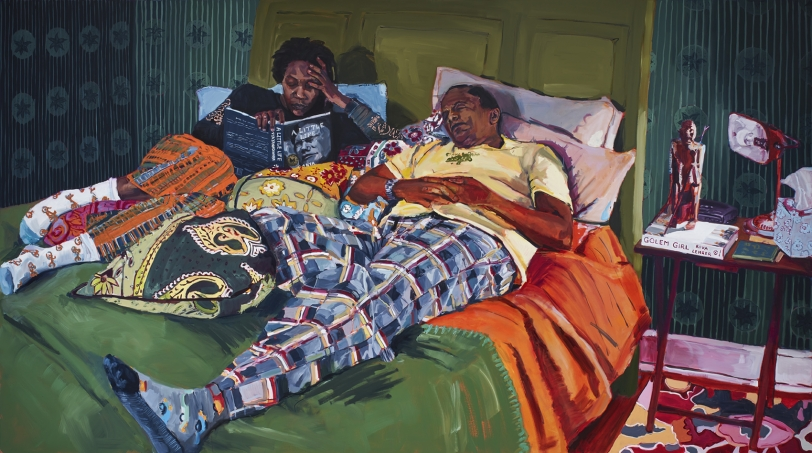 Wangari Mathenge, The Ascendants VIII (Local Natives), 2020