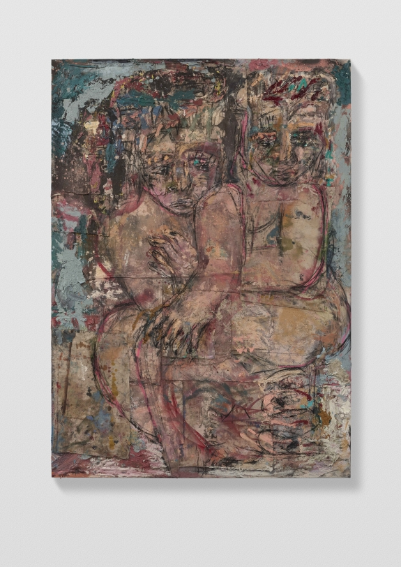 Daniel Crews-Chubb, Couples 5 (french grey), 2021