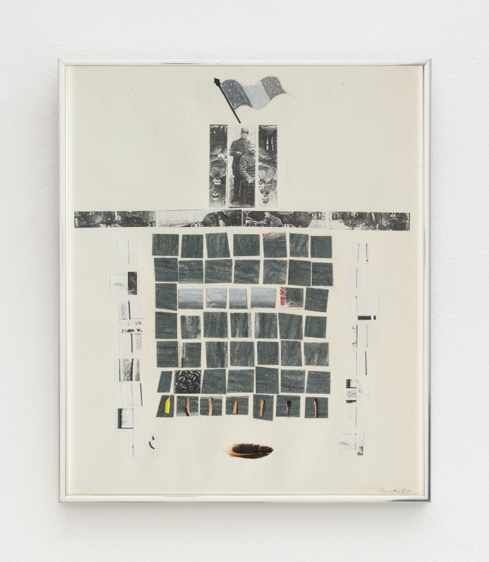 Rachel Rosenthal, Untitled, 1975, Mixed Media collage, 18.75 x 15.74 in, Reg#10472