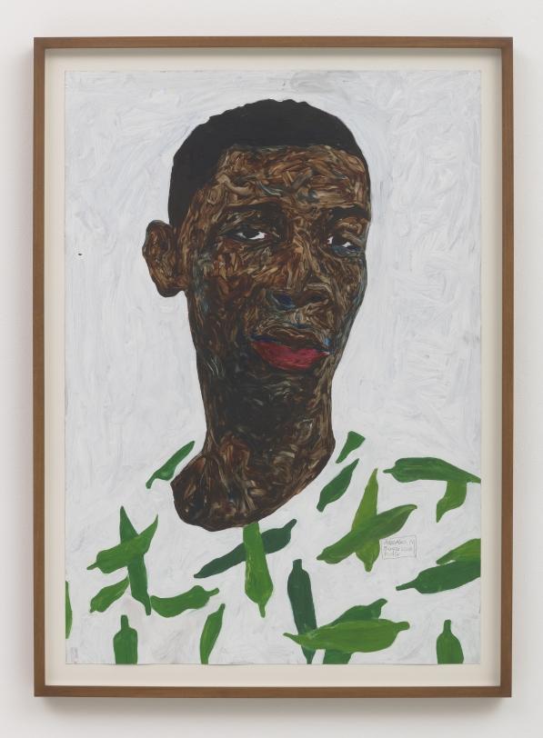 Amoako Boafo Boy in Lady Finger Shirt, 2018