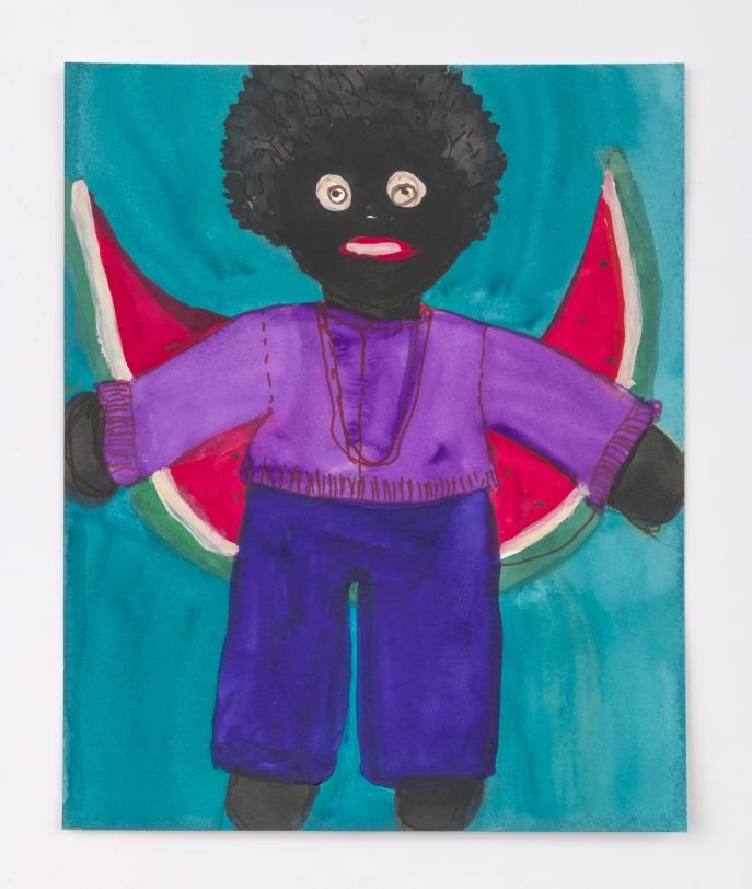 Betye Saar, Boy with Watermelon, 2020