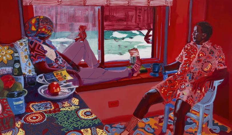 Wangari Mathenge The Ascendants XI (Homage To Ecclesiastes Three, One through Eight), 2021
