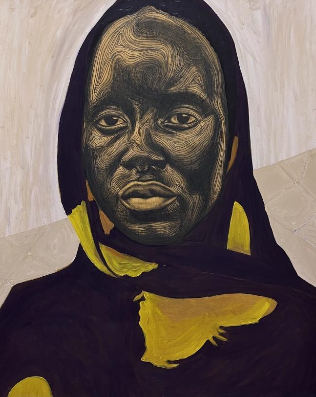 Collins Obijiaku Untitled (Woman I), 2021